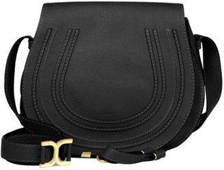 Chloé Medium Marcie Leather Saddle Bag