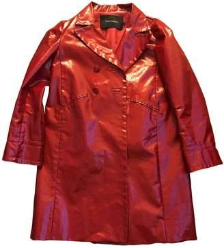 Tara Jarmon Red Cotton Coat for Women