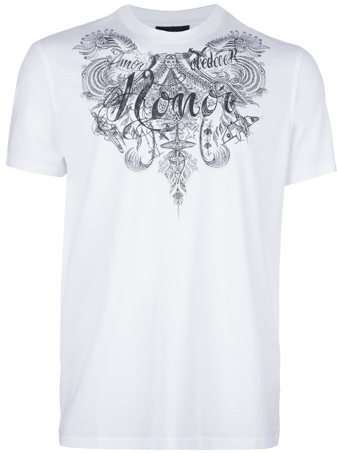 Givenchy illustrative print t-shirt