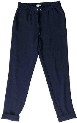 Whistles Navy Trousers for Women