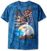 The Mountain Eagle Flag Collage T-Shirt