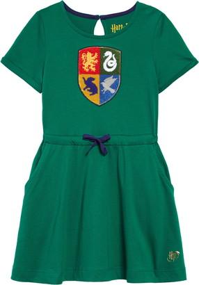 Boden x Harry Potter Hogwarts Crest Dress