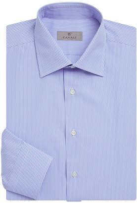 Canali Narrow Stripe Dress Shirt