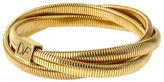 Diane von Furstenberg Gemma Interlock Stacked Bracelets