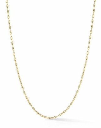 Jade Trau Anchor Link Chain Necklace