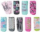 Pink Cookie Girls 9-pk. Pastel Low-Cut Socks