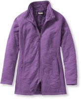 L.L. Bean Women's Comfy Cozy Fleece Coat