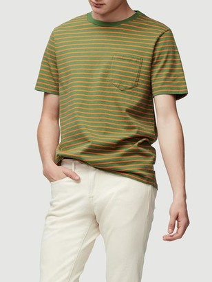 Frame Short Sleeve Striped Tee