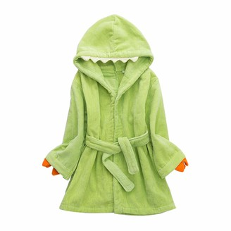 Wytbaby Boy's Bathrobes Girl's Sleepwear Hooded Beach Towels Toweling Dressing Gown 3-5 Years