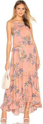 Free People Anita Printed Maxi Dress