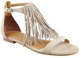 KENDALL + KYLIE Tessa Leather Fringe Sandals