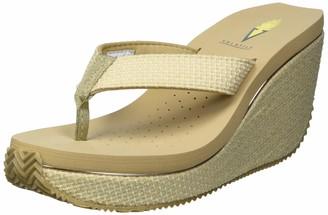 Volatile Women's Thong Wedge Sandal