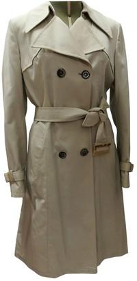 Zenith Beige Coat for Women Vintage