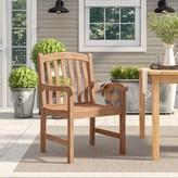 Birch Lane Summerton Teak Patio Dining Chair Heritage