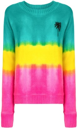 The Elder Statesman Tie Dye Jumper