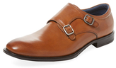 Rush by Gordon Rush Leather Double Monkstrap