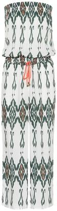 Heidi Klein Polynesia smocked jumpsuit