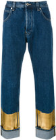 Loewe metallic detail jeans