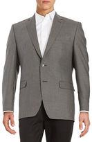 Calvin Klein Slim Fit Silk and Wool Blazer