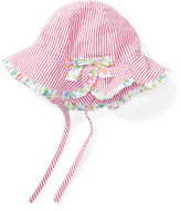 Ralph Lauren Seersucker Cotton Sun Hat