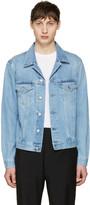 Acne Studios Blue Denim Who Jacket