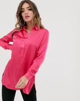 NA-KD Na Kd neon tunic shirt