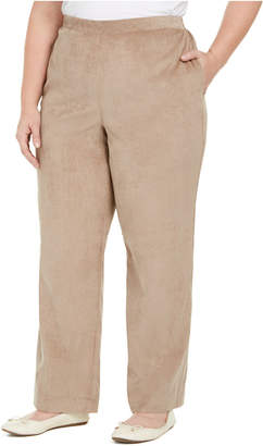 Alfred Dunner Plus Size First Frost Proportioned Corduroy Pants