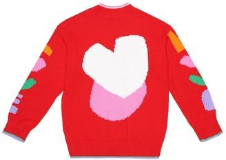 Stella Mccartney Kids Cotton cardigan