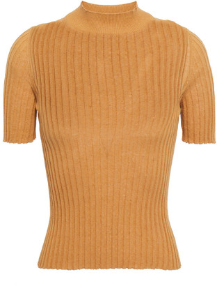 Nanushka Ange Ribbed-knit Top