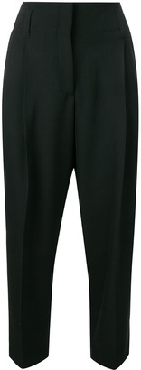 Paul Smith Cropped Side Stripe Trousers