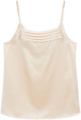 Ginia Silk-satin Camisole