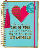 Fashion Angels Turquoise 'Ride A Unicorn' Planner