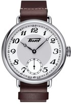 Tissot Men's Heritage 1936 Mechanial Leather Strap Watch, 45Mm