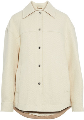 Acne Studios Ocilia Cotton, Wool And Alpaca-blend Jacket