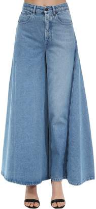 Y/Project Y Project Cotton Denim Skirt