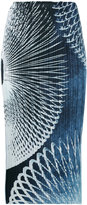 Pleats Please By Issey Miyake - pleated printed skirt - women - Polyester - 1