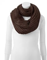 Keds Cable-Knit Metallic Infinity Scarf