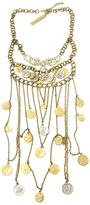 Mykonos Coin Crystal Necklace