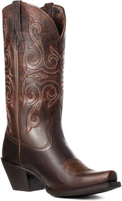 Ariat Round Up Lakota Square Toe Western Boot