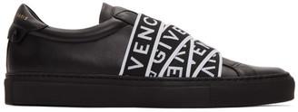 Givenchy Black 4G Webbing Urban Street Sneakers