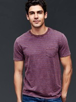 Gap Slub feeder stripe tee