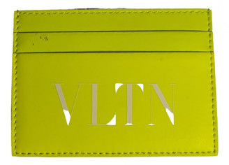 Valentino Green Leather Small bags, wallets & cases