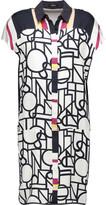 Raoul Teegan printed silk-twill dress