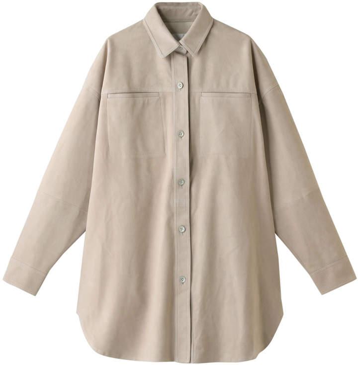 Whim Gazette (ウィム ガゼット) - ウィム ガゼット スエードBIGシャツジャケット