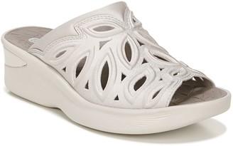 Bzees Perforated Wedge-Heel Sandals - Susie