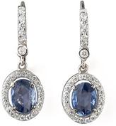 Penny Preville Petite Sapphire & Diamond Earrings