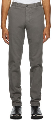Ami Alexandre Mattiussi Grey Chino Trousers
