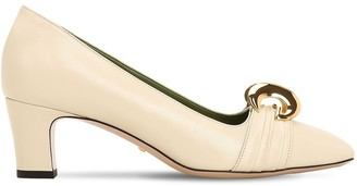 Gucci 55MM LEATHER PUMPS