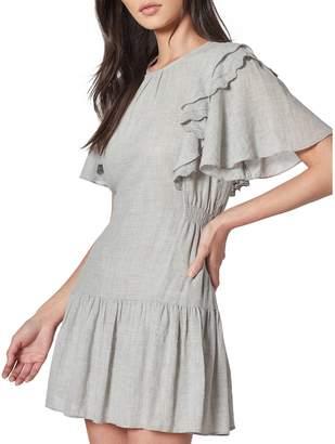 Joie Caliana Cotton-Blend Mini Dress