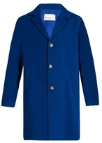 Raey Three-button wool-blend coat